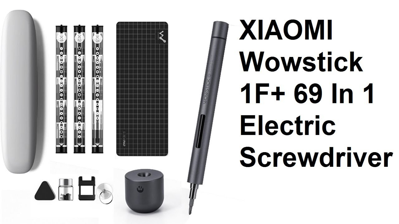 69in1 Electric Cordless Pen LED Screwdriver Set Kit Genuine Xiaomi Wowstick 1F