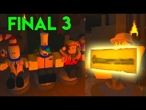 WE MADE IT TO THE FINAL 3WHO WINS? Roblox Survivor FINALE
