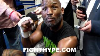 BERNARD HOPKINS SAYS ROY JONES JR. ONE-DIMENSIONAL AND NO COMPARISON TO HIM; EXPLAINS WHY