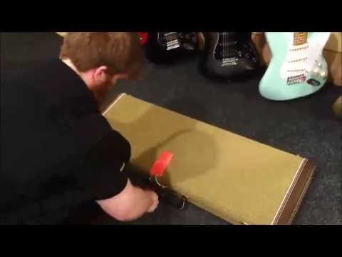 The Joys of Working in a Music Shop! - Fender Unboxing at JG Windows