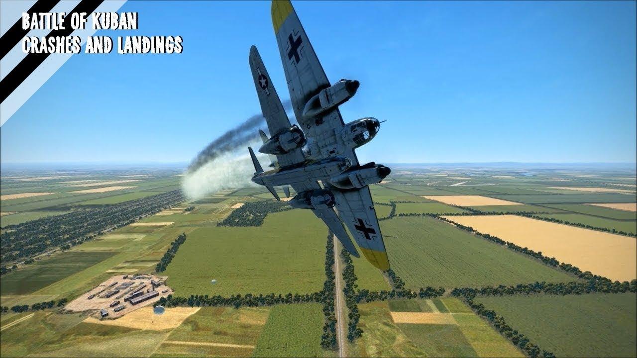 IL-2 Battle of Kuban - Crashes and Landings