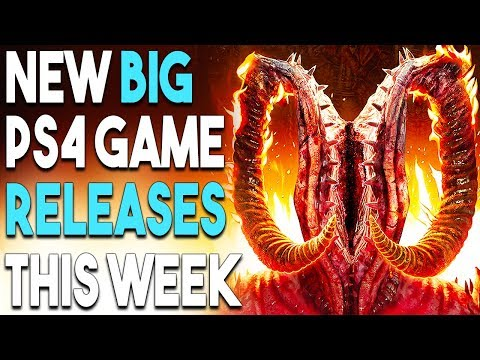 NEW BIG PS4 Game Releases THIS WEEK! Devil May Cry 5 REVEAL SOON?!