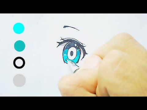 Hướng Dẫn Vẽ Mắt Anime – Cách Vẽ Mắt Anime | Cá Đỏ Art