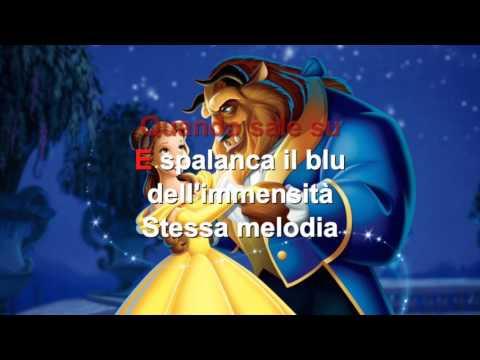 La Bella e la Bestia - E' una storia sai - Karaoke con testo