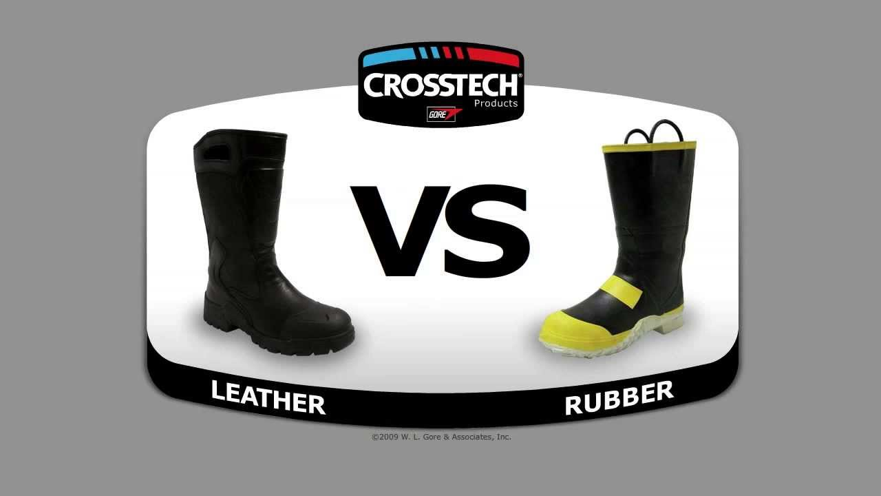 GORE: CROSSTECH: Leather Gives Rubber