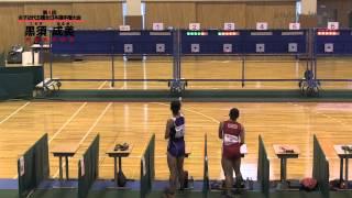 「第4回 女子近代五種全日本選手権大会」黒須成美出場 2/2