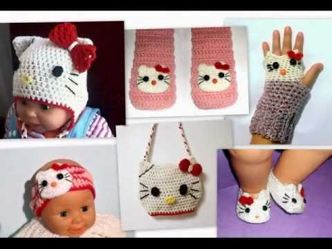 Crochet Hello Kitty - YouTube