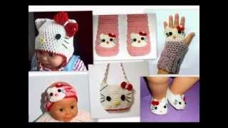 This Video Previously Contained A Copyrighted Audio Track. Due To A Claim By A Copyright Holder, The Audio Track Has Been Muted.     Crochet Hello Kitty