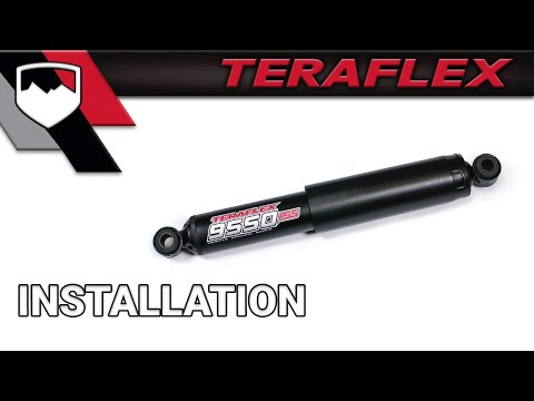 1994 Jeep Cherokee Wiring Diagram Teraflex Install Steering Stabilizer 1513001 Youtube