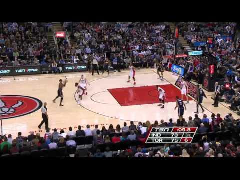 Indiana Pacers vs Toronto Raptors | April 4, 2014 | NBA 2013-14 Season