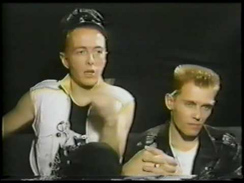 The Clash - 1984 Interview (1 of 2)
