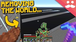 REMOVING THE WORLD: SciCraft Survival Tour FINALE!