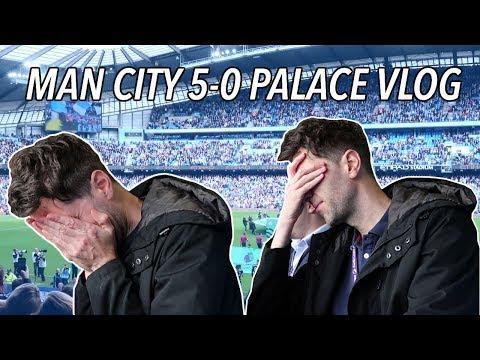 Man City 5-0 Palace behind the scenes press box vlog