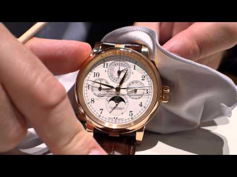 Lange Grand Complication chronograph and foudroyante explained by Anthony de Haas (in German)