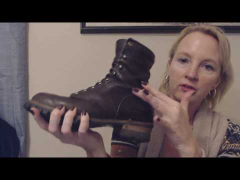 ASMR Soft Spoken ~ Polishing Leather Boots (Brush Sounds)