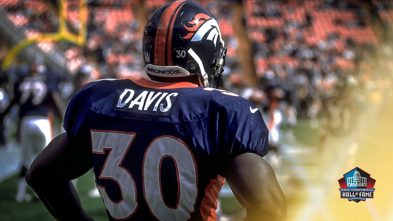 quality design f5d36 171f1 BTV: Terrell Davis, 'A Bronco in and out'