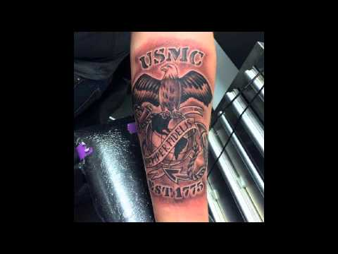 25 Cool USMC Tattoos – Meaning, Policy and Designs