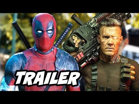 Deadpool 2 Trailer - Deadpool Meets Cable Breakdown and Easter Eggs