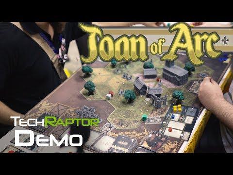 Joan of Arc Gameplayer Demo Gen Con 2017