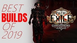 Path of Exile 3.9 - Best PoE Builds of 2019 - New Year's Special