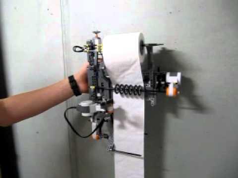 Lego nxt toilet paper dispenser