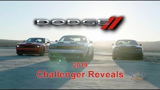 2019 Dodge Challenger Reveals