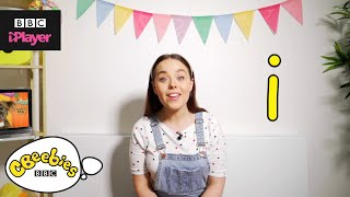 "Learn letter ""i"" with Evie and Dodge 