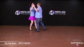 DANCE: Sokkie - Zig Zag Basic & Corner Step