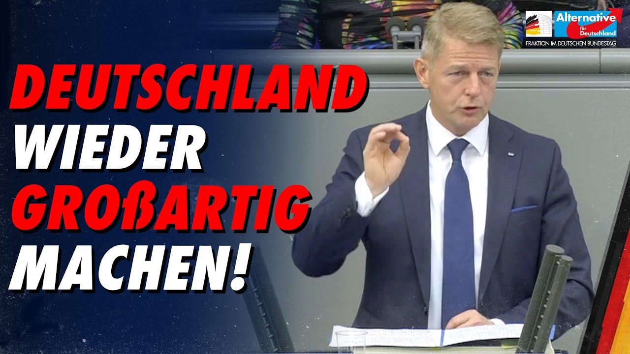 Deutschland wieder großartig machen! - Karsten Hilse - AfD-Fraktion im Bundestag