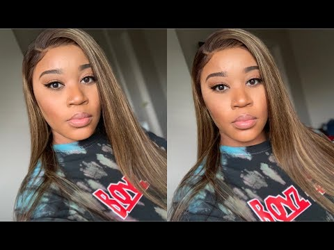 Color Switch Up I Affordable Piano Color Blonde 13x6 Lace Front Wig I Myqualityhair