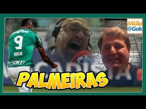 Palmeiras 2 x 0 São Paulo - NARRADORES EXPLODEM de emoção no Allianz Parque