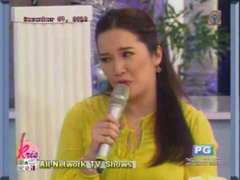 Charice @ Kris TV singing PUSONG BATO