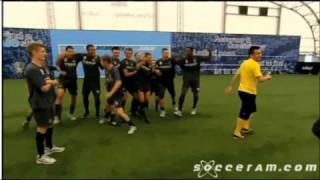 man city youth academy vs falcao skills skool 9 10 10 christmas 2011