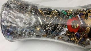 Vintage & Contemporary $35 Savers Jewelry Jar Unjarring