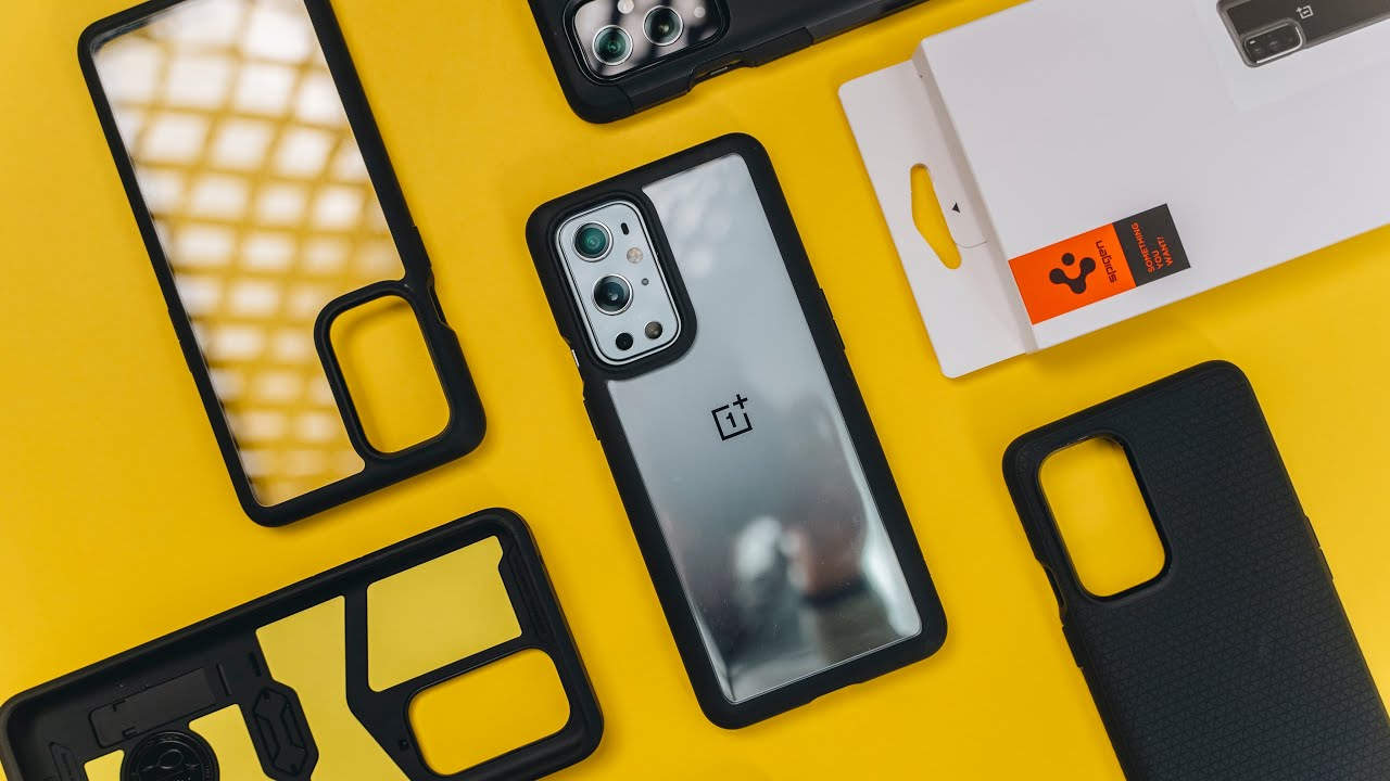 Spigen OnePlus 9 & 9 Pro Case Line Up - Ultra Hybrid + Tough Armor + Liquid Air