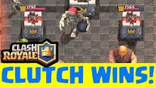 Clash Royale - My CLOSEST MATCHES March 2016