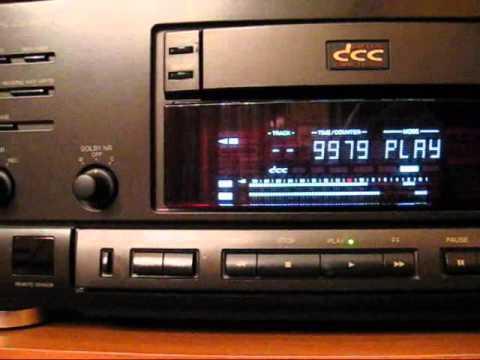 """Digital Compact Cassette """"Technics RS-DC10"""""""