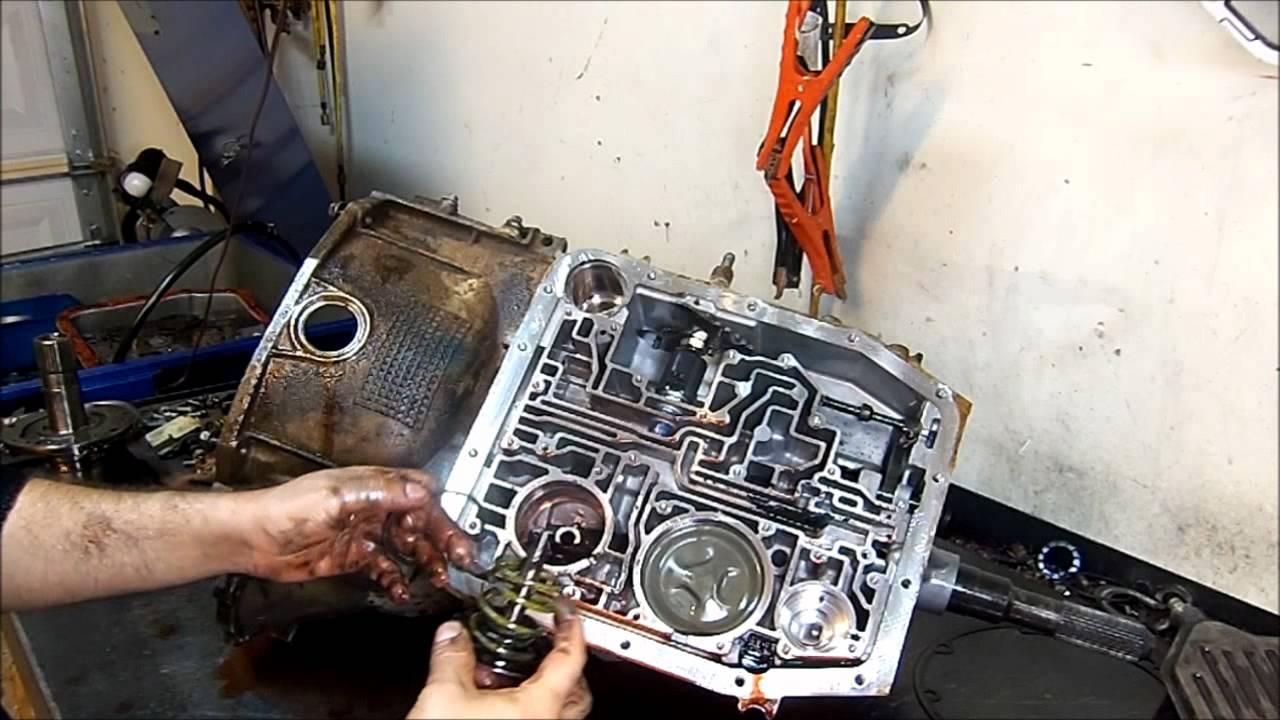 4R75E Transmission Teardown Inspection  Transmission