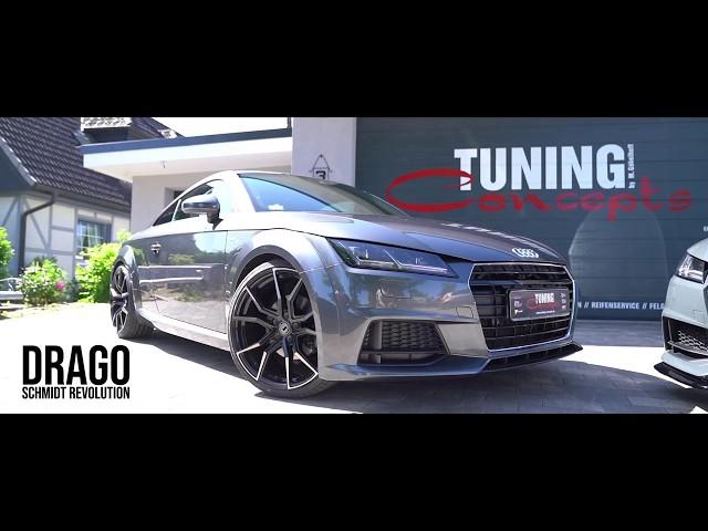Audi TT in Doppelpack Schmidt Drago & Schmidt Twenty One Felgen