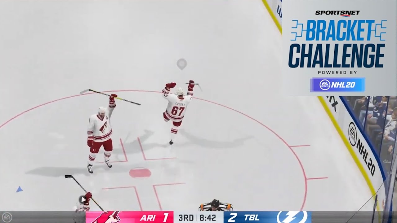Erin Ambrose takes down Fischer, Daoust battles Binnington | EA Sports NHL 20 Tournament
