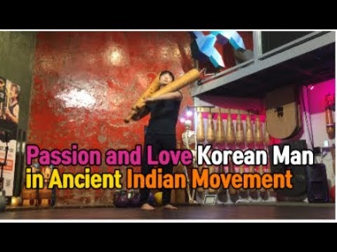the passion of Korean men who like the Indian movement.