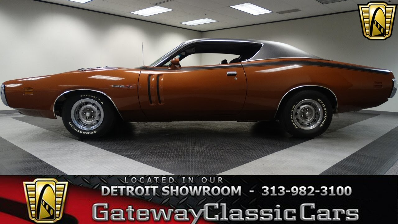 1971 Dodge Charger R/T - YouTube