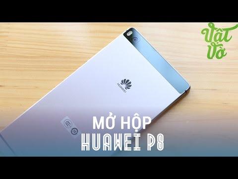 Vật Vờ - Mở hộp & đánh giá nhanh Huawei P8: siêu phẩm thời trang, cấu hình cao