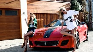 Lil Dicky's $AVE DAT MONEY feat. Fetty Wap and Rich Homie Quan (Girl Version)