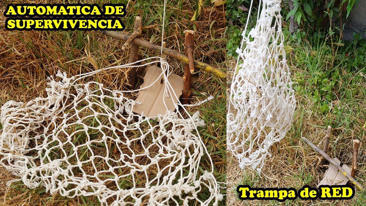 Trampa De Red Para Conejos Automatica De Supervencia - Tuotrial - YMX supervivencia