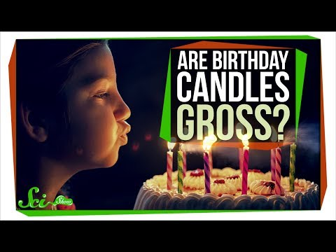 Is It Gross to Blow out Birthday Candles?