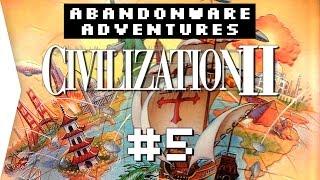 Civilization 2 ► P5 Retro Strategy Civ 2 Gameplay - [Abandonware Adventures]