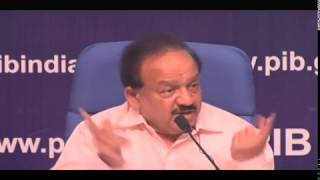 Press Conference by Union Minister Dr. Harsh Vardhan on key initiatives during 4 years of govt. thumbnail