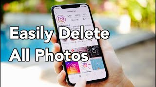 How to Delete ALL Photos from your iPhone or iPad in 2017 - Bulk Delete Photos iPhone 6 Camera Roll