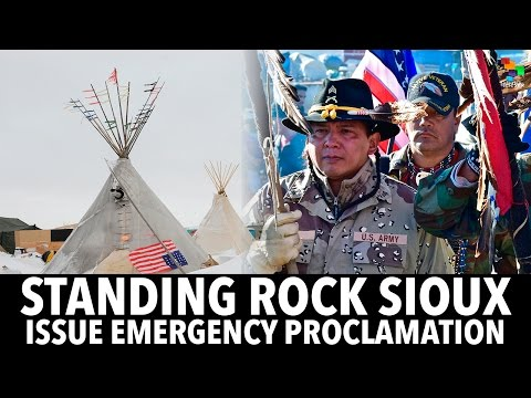 Standing Rock Sioux Issue Emergency Proclamation